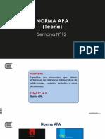 12-A Citas y Referencias APA-teoría