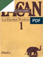 Lacan El Seminario Libro1
