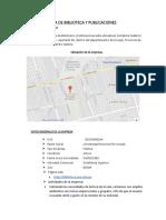 Analisis Situacional Biblioteca