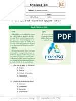4Basico - Evaluación N°2 Lenguaje - Clase 03 Semana 09 - 1S