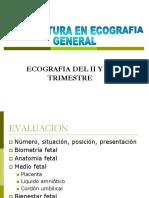 1.- Ecografia en El II y III Trimestre...