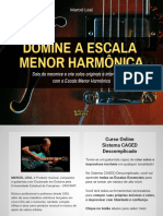 eBook Domine a Escala Menor Harmônica