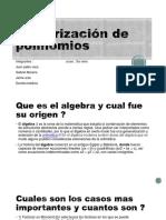 Factorización de Polinomios [Autoguardado]