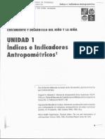 Indices e Indicadores Antropometricos