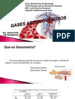 Gases arterovenoso