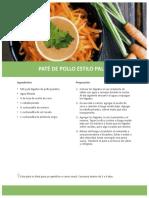 PATE DE POLLO PALEO