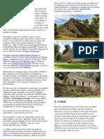 10 Lugares Arqueologicos de Guatemala