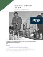 Reforma Tornou Ensino Profissional Obrigatório Em 1971 O DESASTRE COMEÇA AQUI