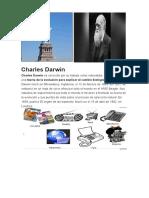 Charles Darwin y Estatua