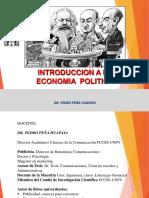 INTRO Economia. Pedro Peña Síntesis MARTES 28 Mayo SESION 1-2
