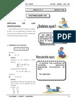 III BIM - 2do. Año - Guía 3 - Factorización III.doc