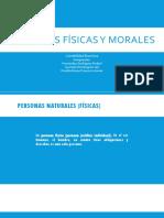 1.5 Personas Físicas y Morales