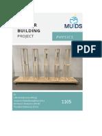 anti-earthquake physics project