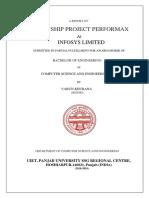Performance analysis using Google Charts