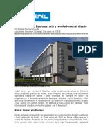 Centenario de La Bauhaus