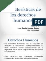 Características de Los Derechos Humanos.