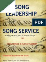 Basic Song Leadership