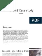 Beyonce Case Study