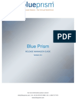 Blue Prism Release Manager Guide