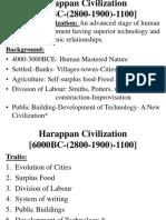 H1. Harappan Civilization
