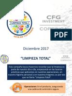 Diapositivas - Campaña Limpieza Total