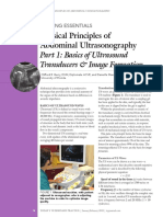 [2015] Part 1 - Basics of Ultrasound Transducers & Image Formation
