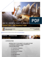 History and Theory of Architecture 1 Chapter 1 (Download Only)