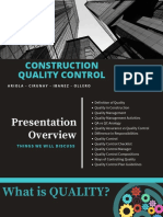 Construction Quality Control