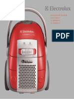 Electrolux Cleaner User Manual