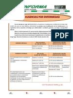 20120115 Csif Informa Bajas y Ausencias PDF 52843