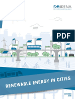 IRENA Renewable Energy in Cities 2016