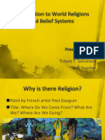 Introduction to World Religions and Belief Systems 2