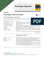 Hemorragia Cerebral en CASADIL