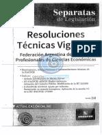 Resoluciones Tecnicas Vigentes - Version 3.8