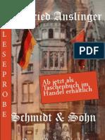 Leseprobe von Winfried Anslinger - Schmidt und Sohn