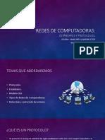 Redes de Computadoras Estandares y Protocolos Por XE1GNW Ines Calderon