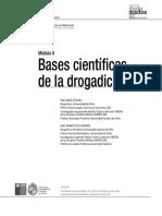 Bases Cientificas de La Drogadicción