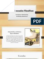 Las 4 Escuelas Filosóficas