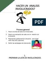 Cómo Hacer Un Analisis de Involucrados (1)
