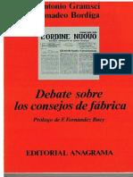 Amadeo Bordiga, Antonio Gramci. Debate sobre los consejos de fábrica (prologo de Francisco Fernández Buey).pdf