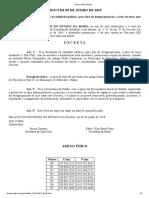 Decreto Nº 19.074 de 05 de Junho de 2019