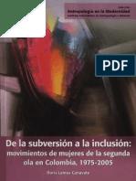 De La Subversion a La Inclusion Movimien