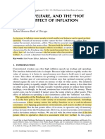 The Hot Potato Effect of Inflation