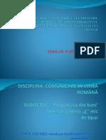 Aspecte Științifice Și Metodice Ale Predării-învățării-evaluării Limbii Române