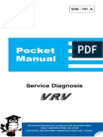 Инструкция Сервисная Daikin VRV Service Diagnosis Si30-701A