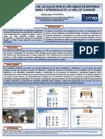 Cartel Evaluación del Diseño de las Aulas para el DEVEA