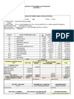 Sample Program of Work