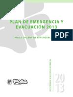 Plan de Emergenciayevacuacion ubo 2013-2918