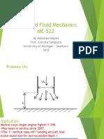Ansys Fluent Project in Advanced Fluid Mechanics
