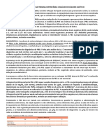 Resumo Peritonite Bacteriana Espontânea e Análise Do Líquido Ascítico
